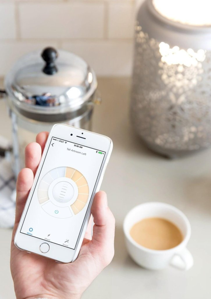 LIFX smart phone app