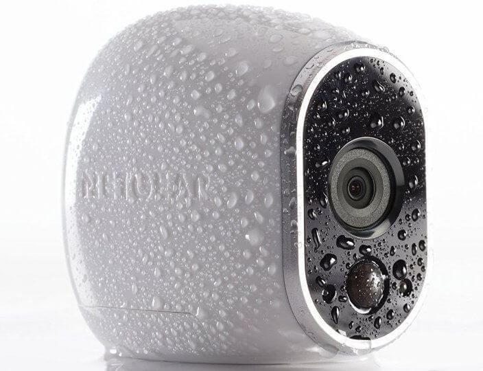 arlo hd camera rain