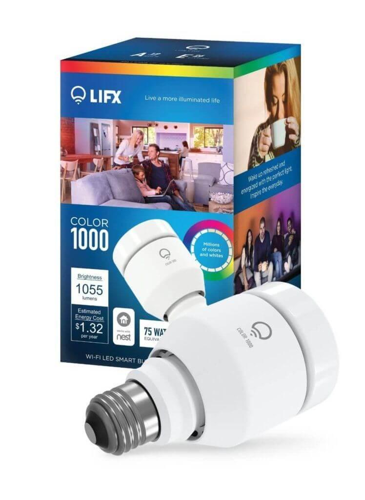lifx color bulb