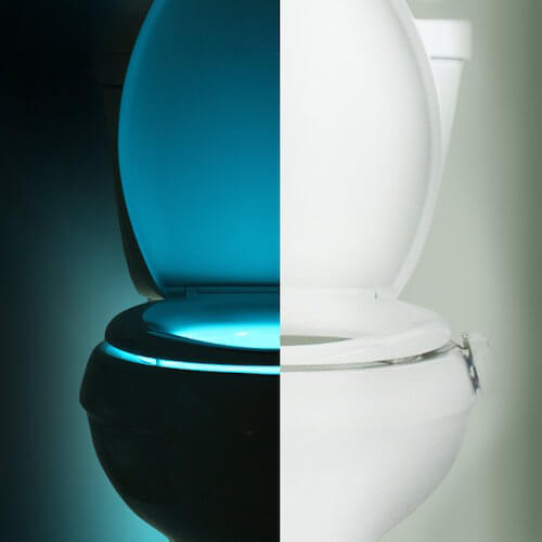 IllumiBowl Toliet Night Light