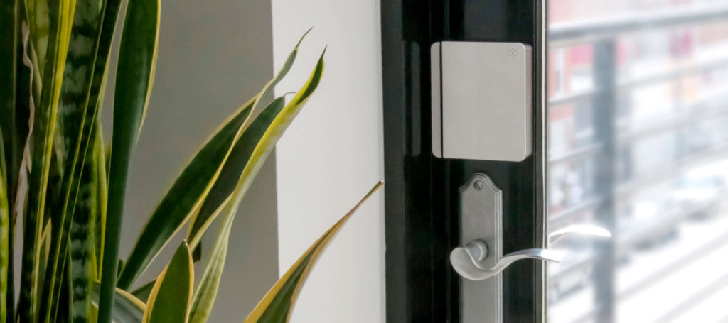 scout smart security sysetm door panel
