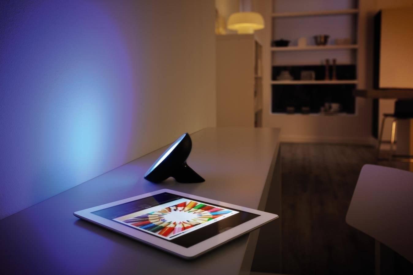 hue bloom smart lighting ideas