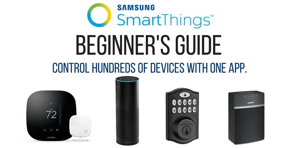 smartthings beginner's guide twitter image