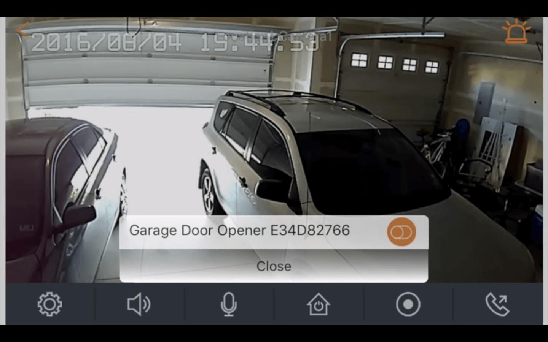 home8 garage door app