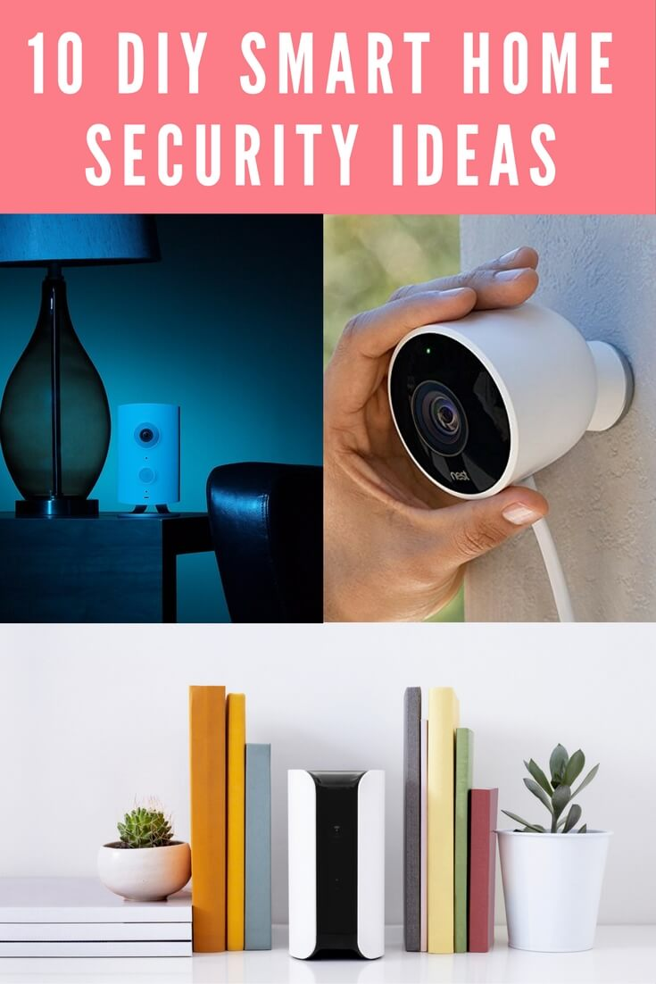 diy smart home security pinterest