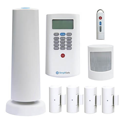 simpli safe diy smart home security