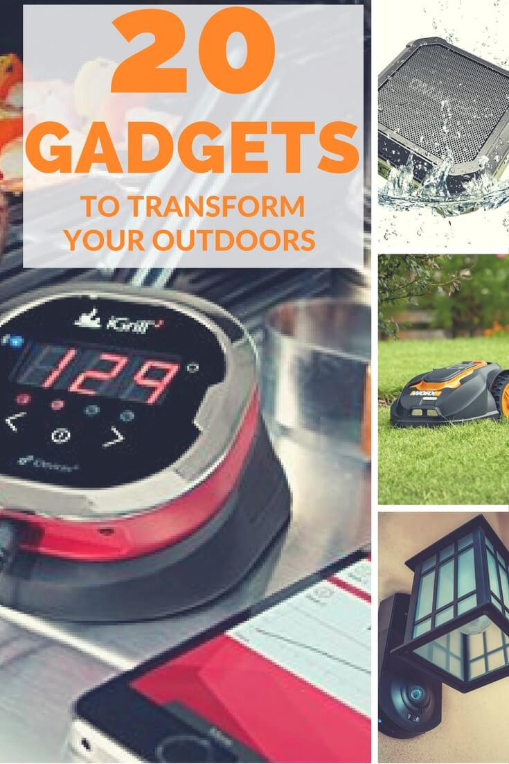 smart outdoor gadgets-pinterest