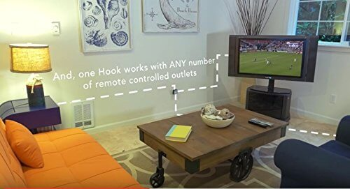 hook smart home review living room