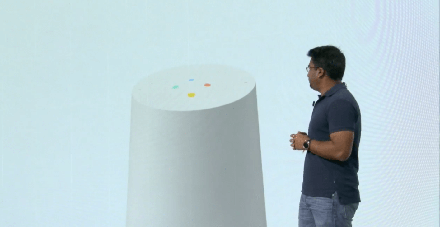 google smart home announcement