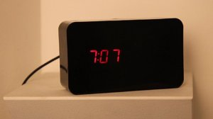 hidden security camera clock