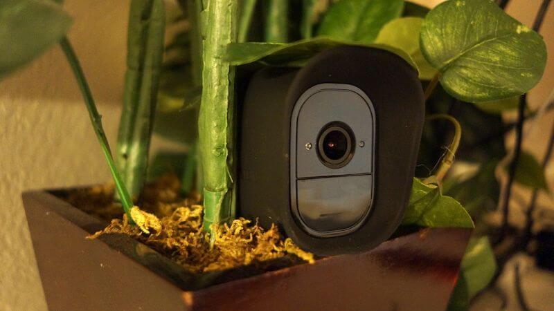 arlo pro hidden plant skin