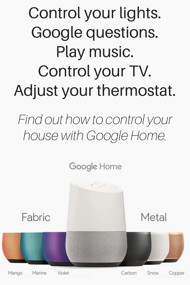 Google Home pinterest