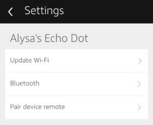 setup dot with bluetooth