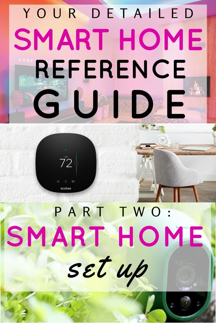 smart home set up