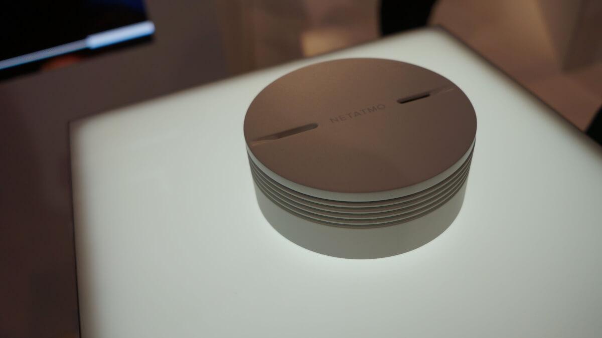 netatmo smoke detector