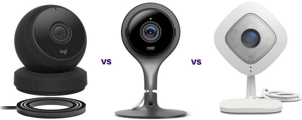 Logi Circle vs Nest Cam vs Arlo Q