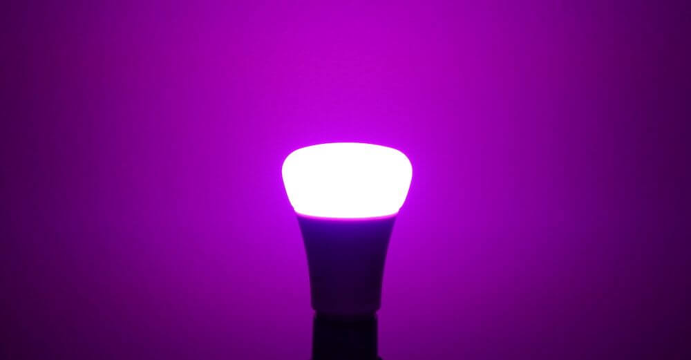 hue 3rd gen purple light