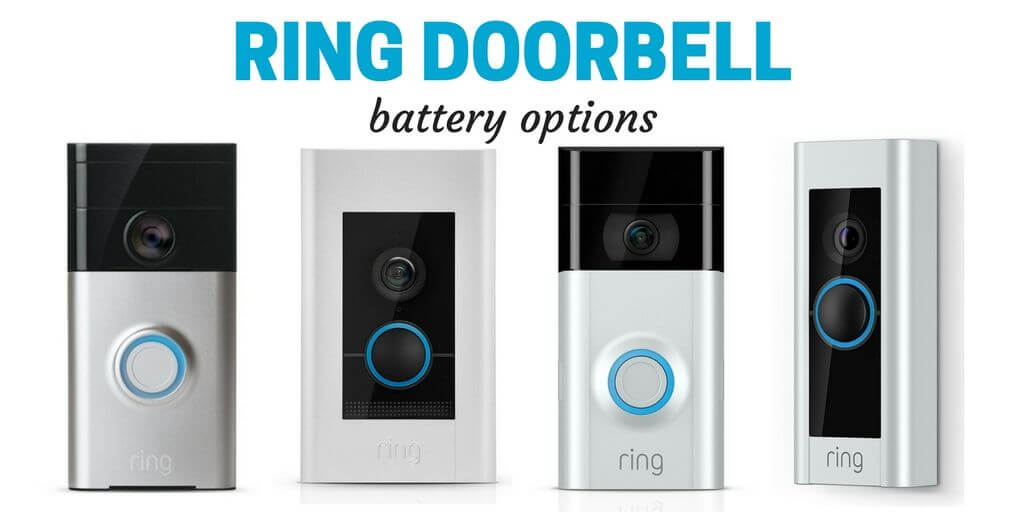 ring doorbell battery options