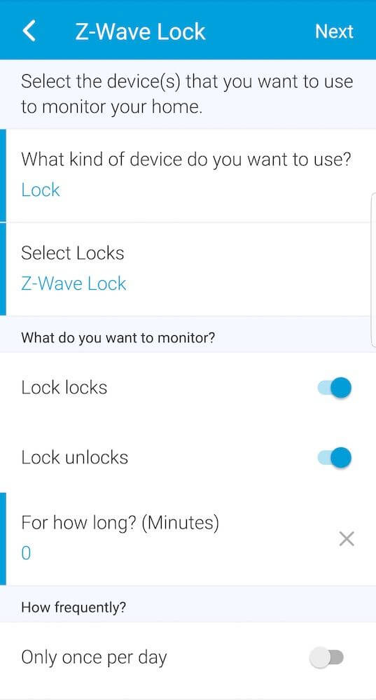 Schlage Connect Notifications