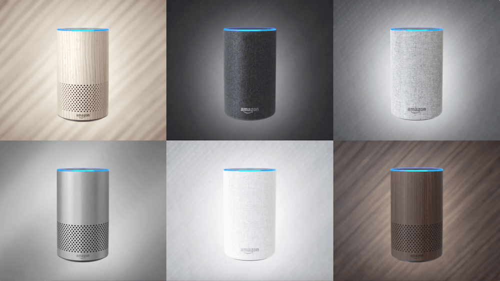 Echo Gen 2 Colors