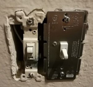ge light switch z-wave