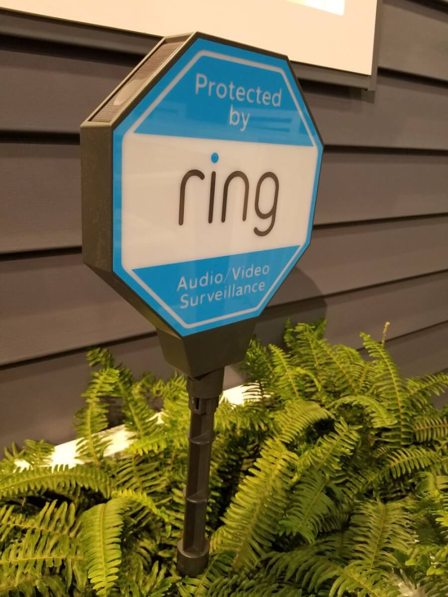 ring security sign