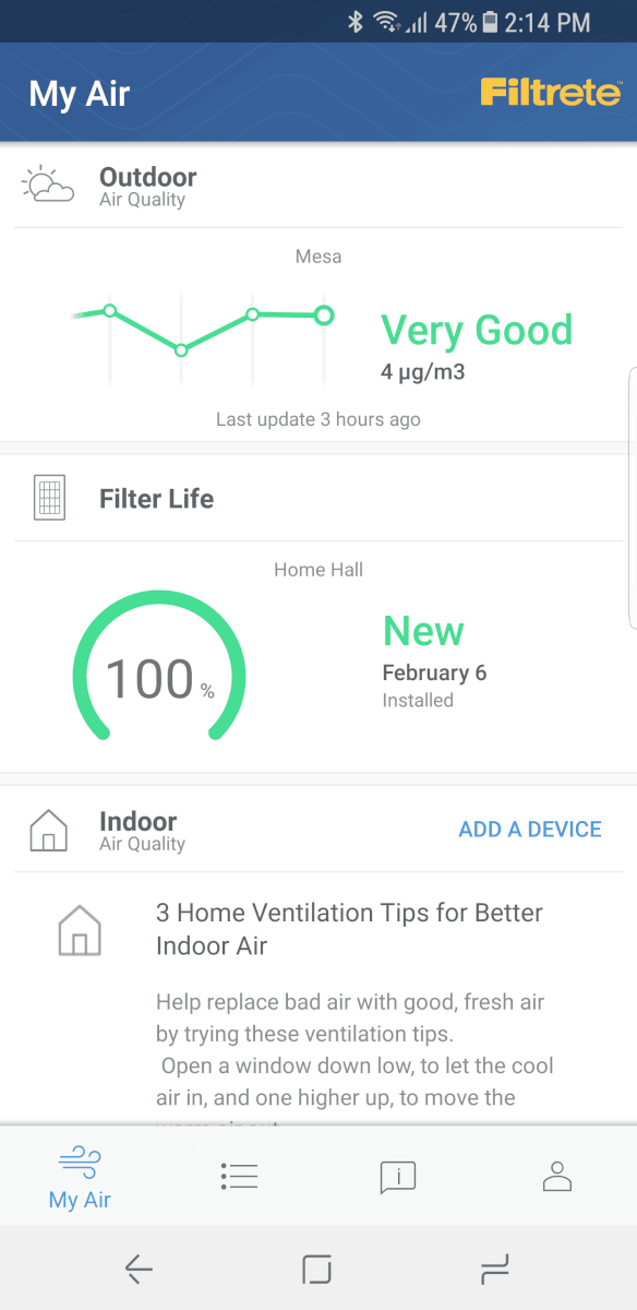 filtrete smart air filter review