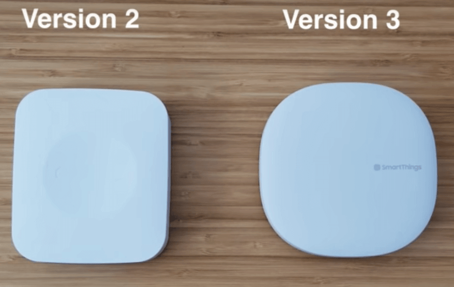 smartthings v2 vs v3 hub