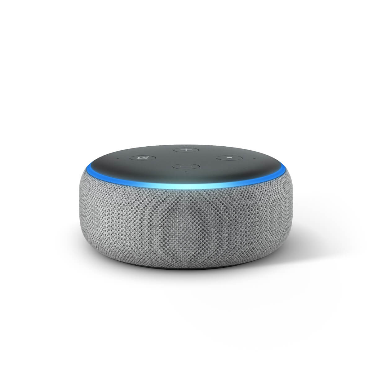 amazon echo dot v3 heather gray