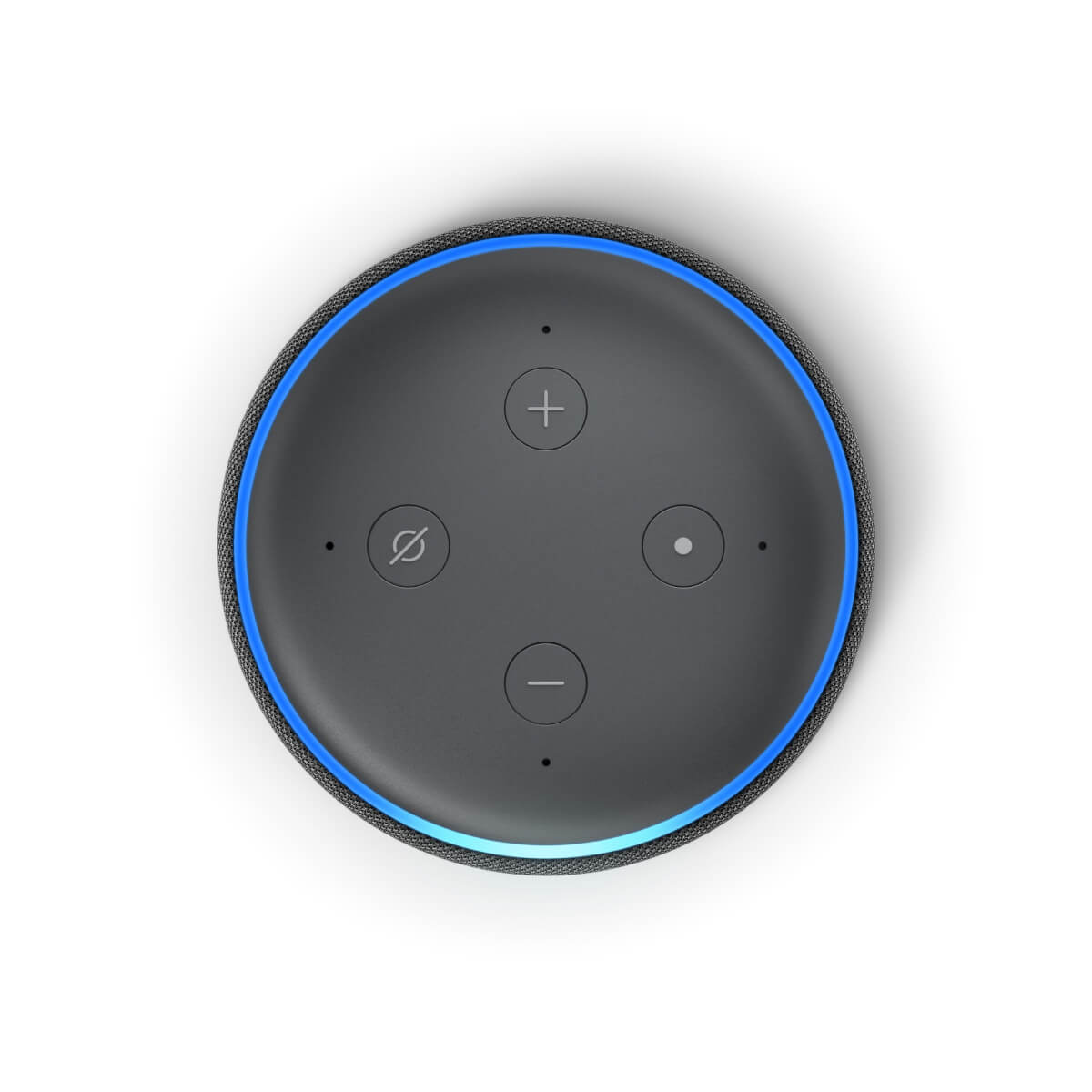 amazon echo dot v3 top