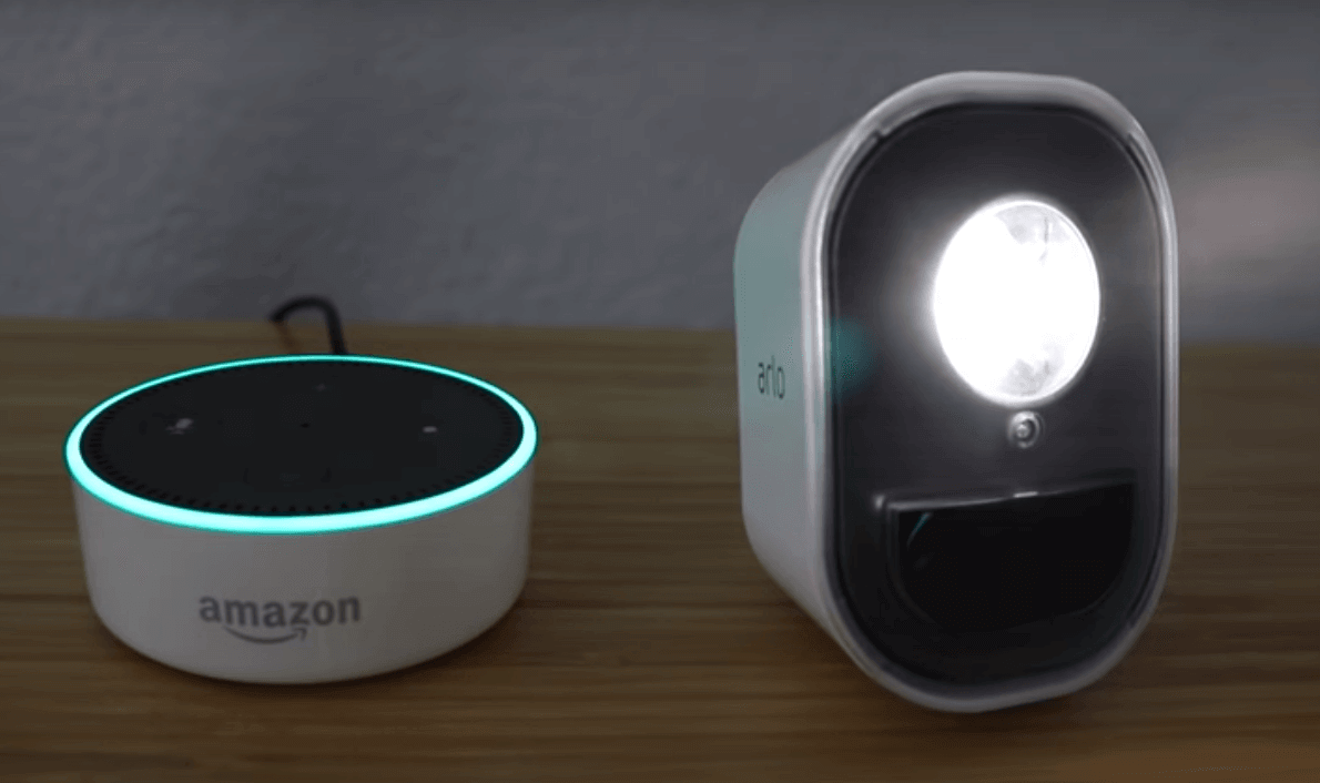 arlo light alexa