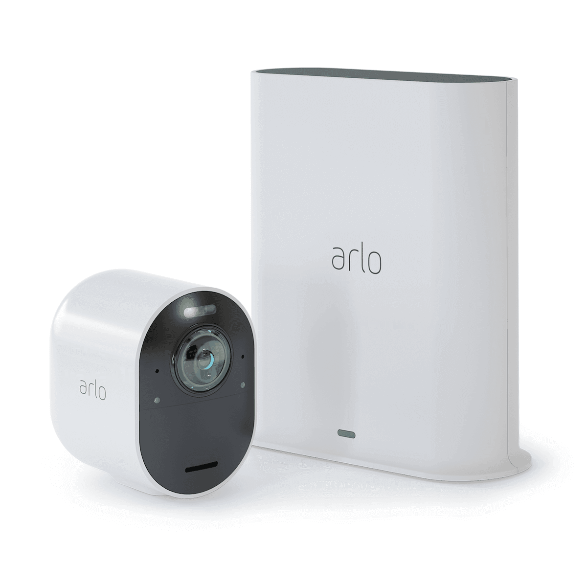 arlo ultra camera and base station