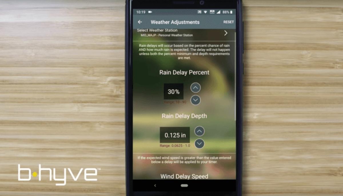 B-Hyve app