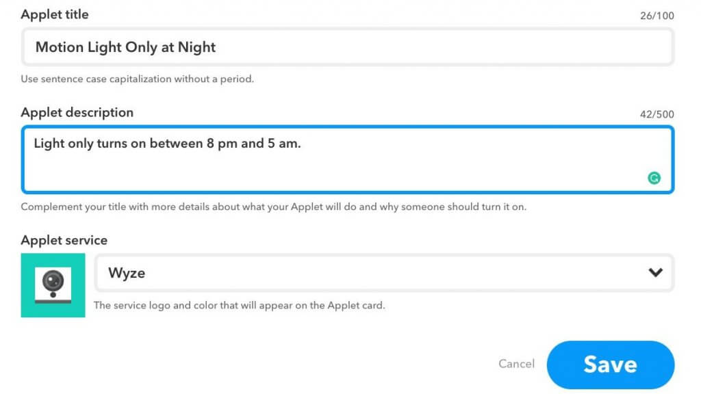 How to Allow IFTTT Applets Only to Run at Certain Times