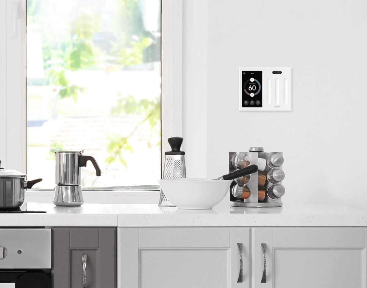 brilliant kitchen light switch