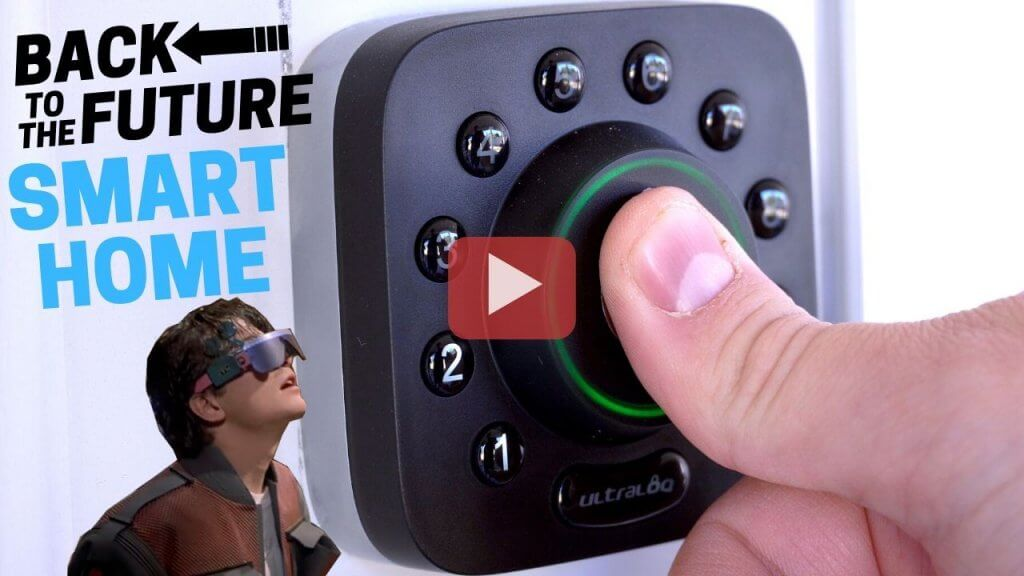 back to the future 2 smart home video
